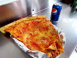 Jumbo slice - A jumbo slice in Adams Morgan