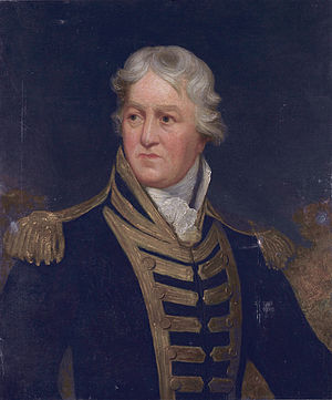 Charles Middleton, 1st Baron Barham - Admiral Charles Middleton, later Lord Barham (Isaac Pocock)