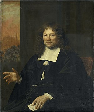 Adriaen Backer - Portrait of Daniel Niellius, 1671