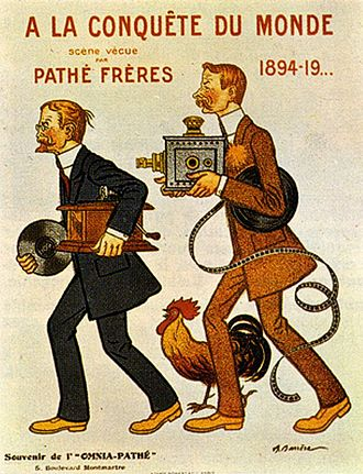 Pathé - The Pathé Brothers by Adrien Barrère.