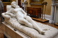 After Lorenzo Bartolini (1777-1830) - Venus (1830) front right, Lady Lever Art Gallery, Port Sunlight, Cheshire, June 2013 (9129329055).png