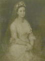 Agatha Christie's mother Clarissa Margaret 'Clare' Boehmer on her wedding day.png