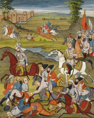 Lotf Ali Khan - Battle between Lotf Ali Khan and Agha Mohammad Khan Qajar.