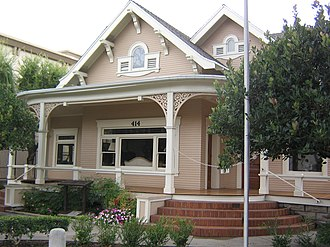 National Register of Historic Places listings in Orange County, California - Image: Ainsworth House 2007
