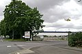 Air Ambulance landing on the old AP car park - geograph.org.uk - 1422611.jpg
