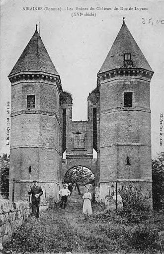 Airaines - Image: Airaines Tours de Luynes avant 1914
