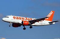 G-EZBD - A319 - EasyJet
