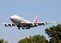 Air India Boeing 747-400. The Government of In...
