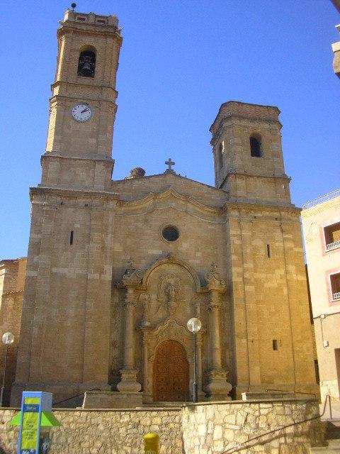 Aitona parish church