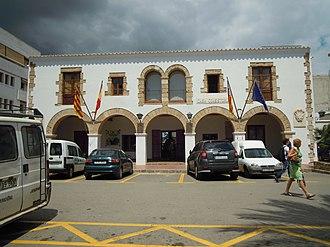 Santa Eulària des Riu (municipality) - The Ajuntament (Town Hall) of Santa Eulària des Riu