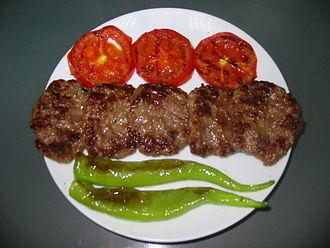 Turkish cuisine - Akçaabat meatballs.