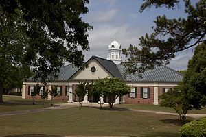 Coastal Alabama Community College Monroeville - Learning Resources Center on the Monroeville campus