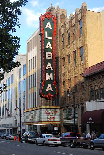 Alabama Theatre in Birmingham Alabama Theatre.jpg