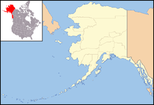 Circle is located in Alaska