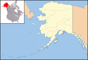 North Pole, Alaska is located in Alaska