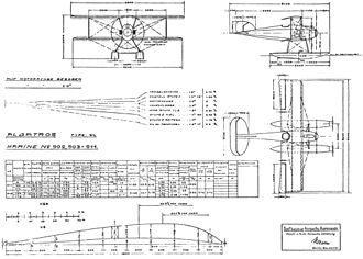 Albatros W.4 - Albatros W.4 drawing