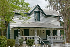 National Register of Historic Places listings in Emanuel County, Georgia - Image: Albert Neal Durden House, Emanuel County, GA, US