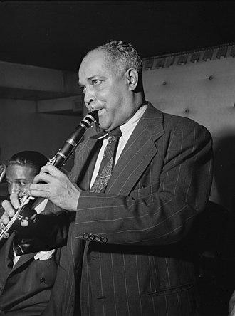 Albert Nicholas - Albert Nicholas, Jimmy Ryan's (Club), New York, ca. March 1947. Image: William P. Gottlieb