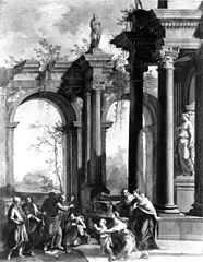 St. Peter Baptizing the Centurion, Cornelius