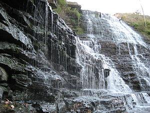 Geography of Hamilton, Ontario - Albion Falls