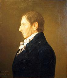 Albrecht Daniel Thaer, Porträt von Johann Jacob de Lose (1806) (Quelle: Wikimedia)