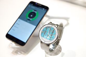 Alcatel Mobile - Image: Alcatel Smartwatch
