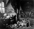 Alchemist in his laboratory. Wellcome M0005184.jpg