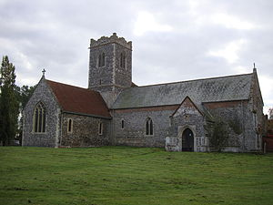 Aldeby Priory - St Mary's Church, Aldeby - owned by the Benedictine monks at Aldeby Priory, probably used for officiating