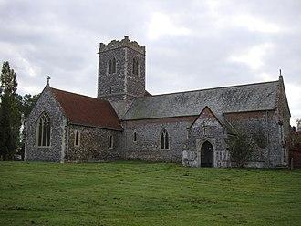 Aldeby - St Mary's Parish Church, Aldeby