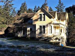 National Register of Historic Places listings in San Juan County, Washington - Image: Alderbrook Farmhouse NRHP 85002919 San Juan County, WA