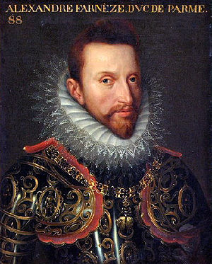 Siege of Eindhoven (1583) - Governor-General Don Alexander Farnese by Otto van Veen.