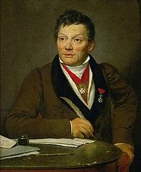 Jacques-Louis David: Portrait d'Alexandre Lenoir