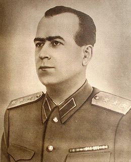 Romanian politician, military officer