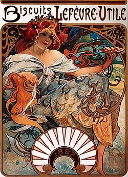 Alfons Mucha - 1896 - Biscuits Lefèvre-Utile.jpg