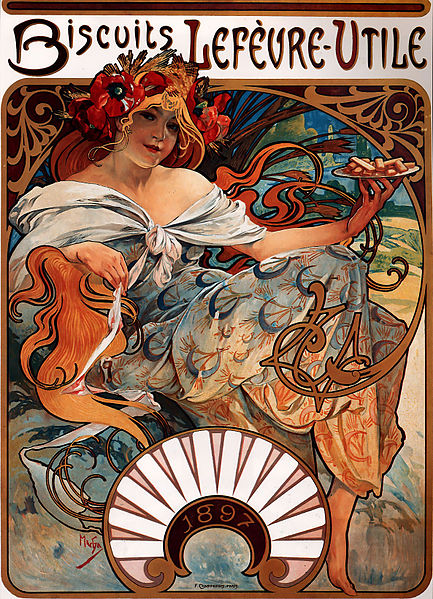 File:Alfons Mucha - 1896 - Biscuits Lefèvre-Utile.jpg