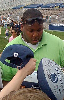 Jay Alford American football defensive tackle