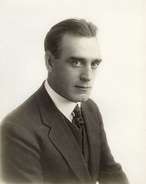 Alfred Paget - Publicity portrait of Alfred Paget, Fine Arts Film Company actor, 1916.
