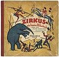 Alfred Zangerl - Zirkus. Ein buntes Bilderbuch, Sesam-Verlag,1925.jpg