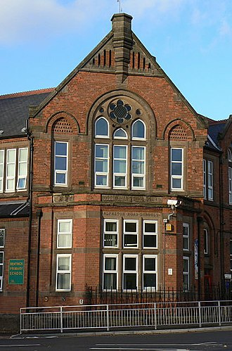 Radford, Nottingham - Image: Alfreton Road School geograph.org.uk 1044404