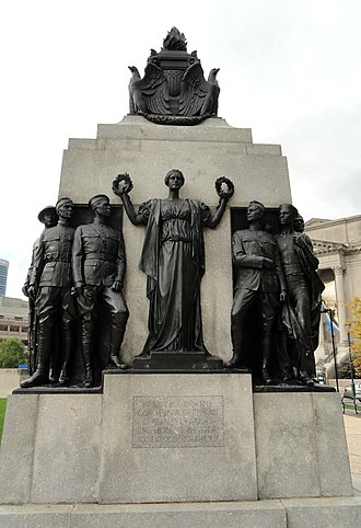 J. Otto Schweizer - All Wars Memorial to Colored Soldiers and Sailors (1934), Logan Square, Philadelphia.