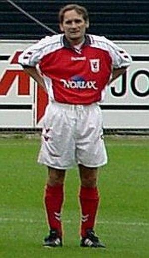 Allan Simonsen - Simonsen in Vejle BK jersey in 2000.