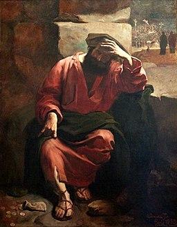 Almeida Júnior - Remorso de Judas, 1880