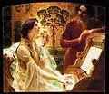 Alois Hans Schram - Klavierstunde 1902.jpg