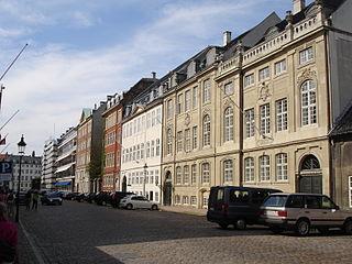 street in central Copenhagen, Denmark