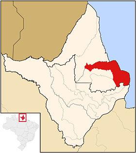 Localização de Amapá