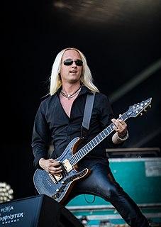 Olof Mörck Swedish musician