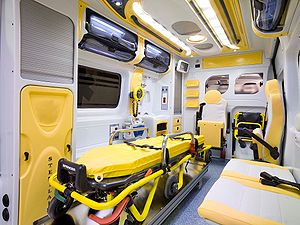 Emergency medical services in Italy - Typical interior view