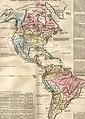 Amerika- historisch, physisch und politisch im Jahr 1828.jpg