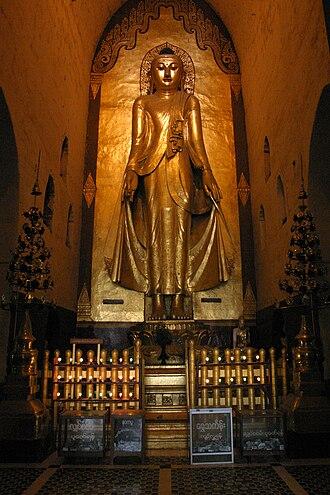 Koṇāgamana Buddha - Ananda Temple Buddha