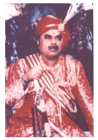 Dharakote - Raja Anant Narayan Singh Deo (1974-2003)